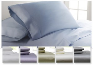 Egyptian Cotton Rich 600 Thread Count Wrinkle Resistant Queen, King, or Cali King Sheet Set