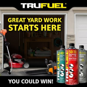 TruFuel's Great Yardwork Starts Here Instant Win Game & Sweepstakes