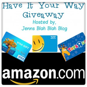 Choose YOUR Prize Valued at $500 Giveaway
