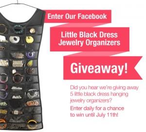 Organize.com – #LittleBlackDress Jewelry Organizer #Giveaway