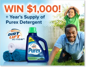 Purex Dirt Lift Dad's Sweepstakes