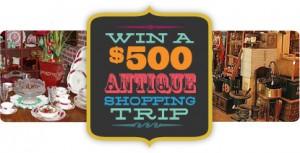 ShopAcrossTexas.com $500 Antiquing Shopping Spree Sweepstakes