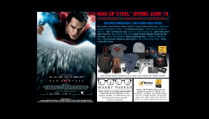 Warner Bros Man of Steel Sweepstakes