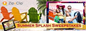 ZipaClip Summer Splash Sweepstakes
