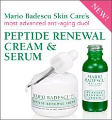 FREE Sample of Peptide Renewal Serum and Peptide Renewal Cream