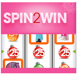 HSN Spin To Win Sweepstakes