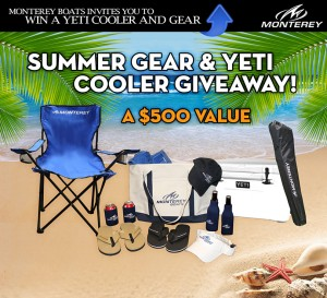 Monterey Boats Beach Pack Giveaway
