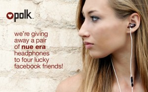 Polk Audio Nue Era Headphones Sweepstakes