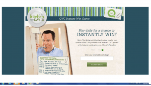 QVC The In The Kitchen With David Instant Win Game