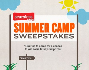 Seamless Summer Camp Sweepstakes