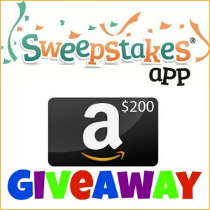 Sweepstakes App Giveaway