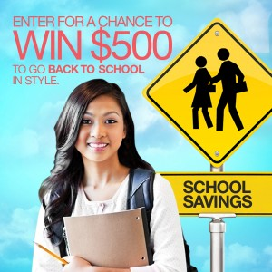 Valpak Back to School Savings Sweepstakes