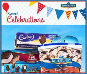 Blue Bunny Sweet Celebrations Sweepstakes