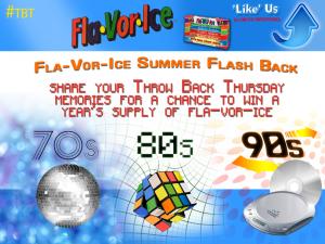 #FlaVorIceFlashback Sweepstakes