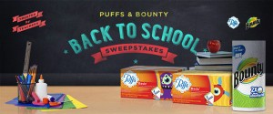Procter and Gamble -  Win A Year's Supply Of Puffs & Bounty
