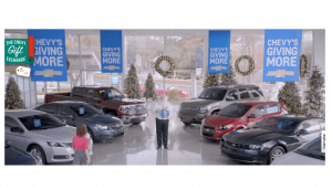 Chevy Gift Exchange Instant Win Game