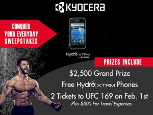 Kyocera - Conquer Your Everyday Sweepstakes