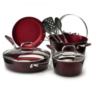 Cook's Companion 10 pc Nonstick Set AS LOW AS $25.00 INCLUDING SHIPPING!