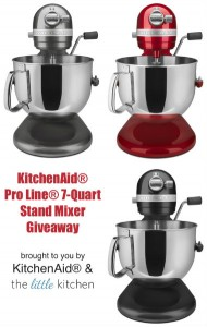 The Latin Kitchen's - KitchenAid Pro Line 7-Quart Stand Mixer Sweepstakes