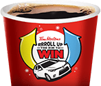 Tim Hortons Roll Up The Rim to Win Instant Win Game