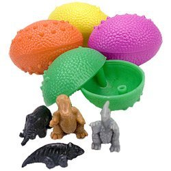 Dinosaurs Eggs with Mini Toy Dinosaur Figures Inside - 36 Per Order