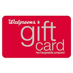 Free $25 Walgreens Gift Card