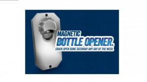 Free Skoal Magnetic Bottle Opener