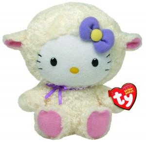 Ty Beanie Babies Hello Kitty Lamb Suit