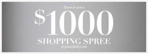 Enter to WIN a $1000 Shopping Spree