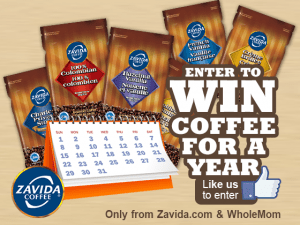 Zavida Coffee For A Year Giveaway 6 WINNERS!