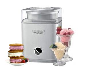 Cuisinart Pure Indulgence 2-Quart Automatic Frozen Yogurt, Sorbet, and Ice Cream Maker Sweepstakes