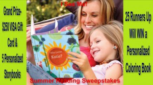 I See Me!  Summer Reading Sweepstakes