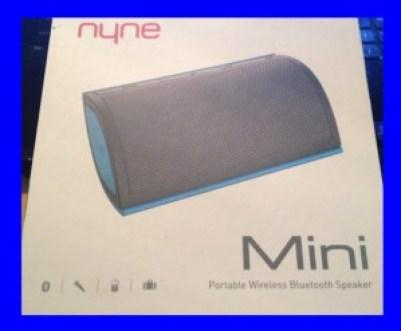 NYNE Mini Portable Bluetooth Speaker Review