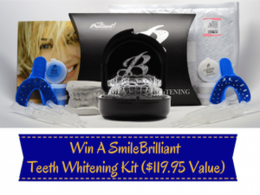 SmileBrilliant Custom Fitted Tray Kit Plus 3 Whitening Gels Giveaway