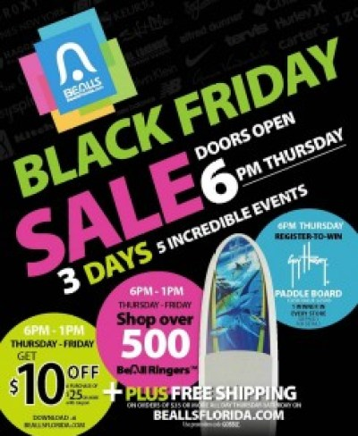 Bealls #BlackFriday Ad