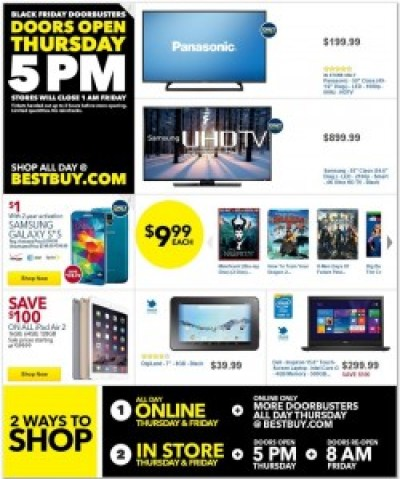 Best Buy #BlackFriday Ad