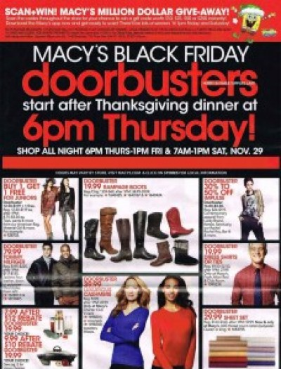 Macy's #BlackFriday Ad