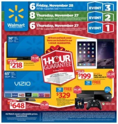 Walmart #BlackFriday Ad