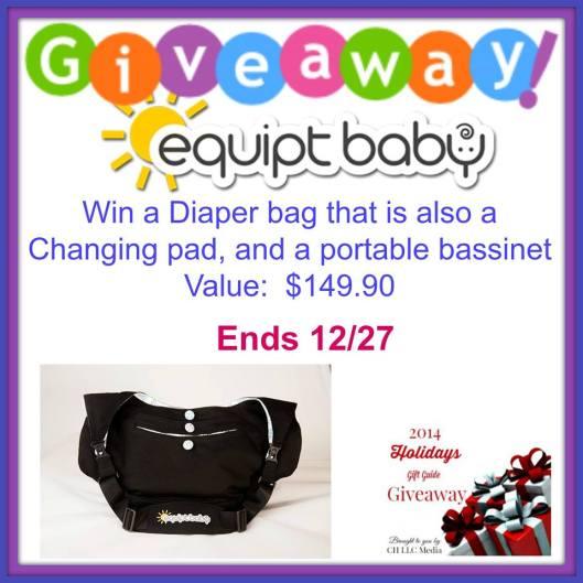 Equip Baby Diaper Bag Giveaway
