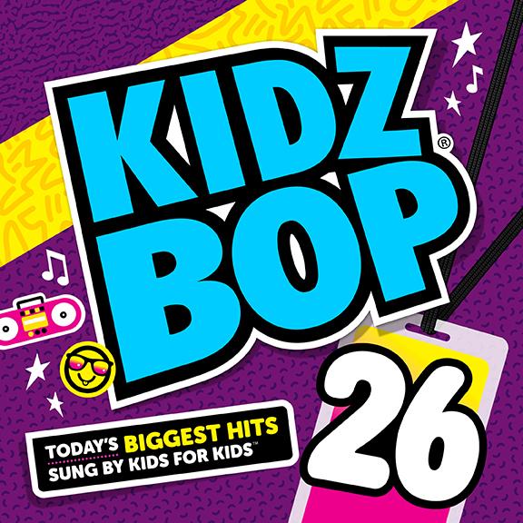 KIDZ BOP 26 CD Giveaway1