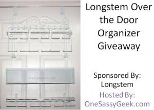 Longstem Over the Door Organizer Giveaway