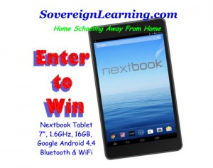 Nextbook Tablet Sweepstakes
