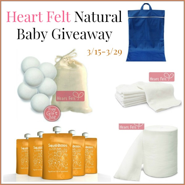 Heart Felt Baturals Dryer Balls Giveaway