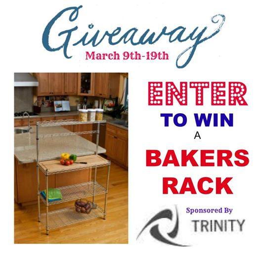 Trinity Bakers Rack Giveaway