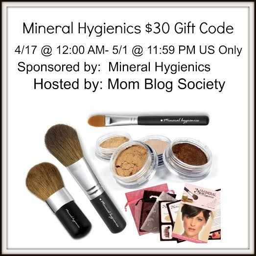 Mineral Hygienics $30 Gift Code Giveaway