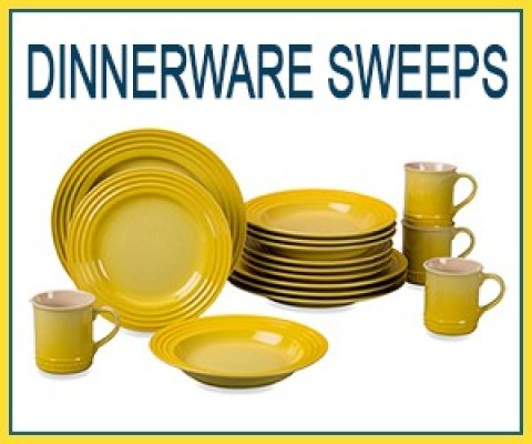 16-Piece Le Creuset Dinnerware Set Sweepstakes