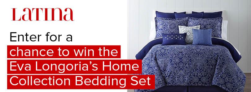 Win Eva Longoria's Home Collection Bedding Set