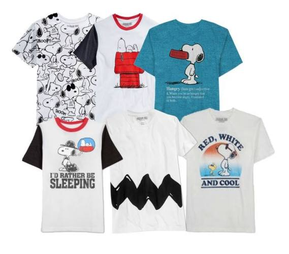 Snoopy and Peanuts T-Shirt Giveaway