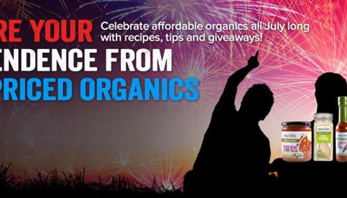 Wild Oats Declare Your Independence From High Priced Organics Sweepstakes