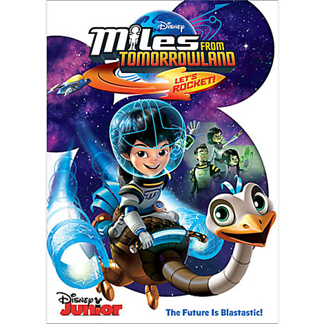 MILES FROM TOMORROWLAND - LET'S ROCKET on DVD